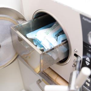 超音波洗浄機でさらに細かく洗浄